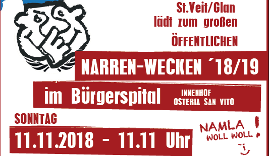Narrenwecken 2018